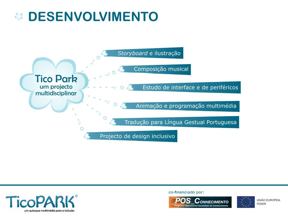 DESENVOLVIMENTO co-financiado por: