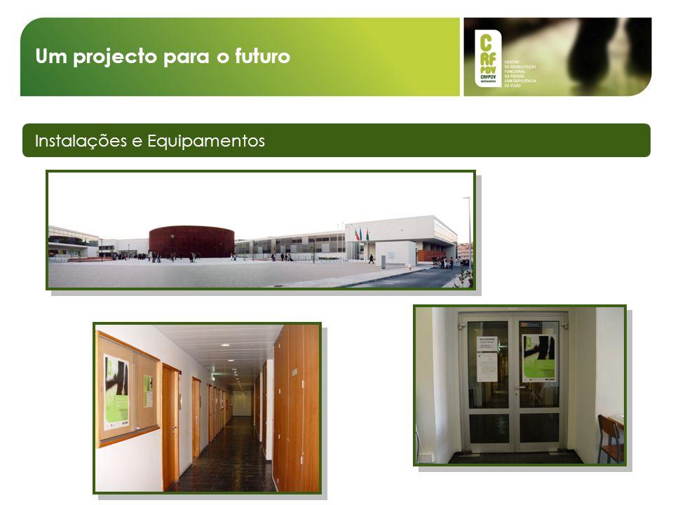 Um projecto para o futuro Instalações e Equipamentos