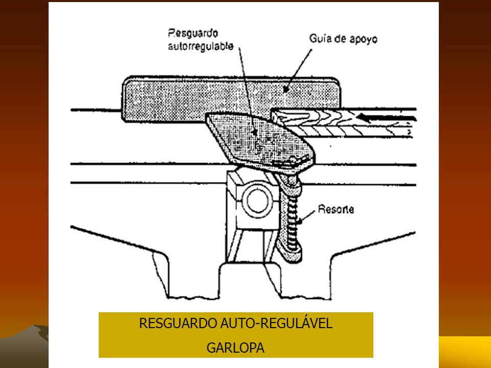 RESGUARDO AUTO-REGULÁVEL GARLOPA