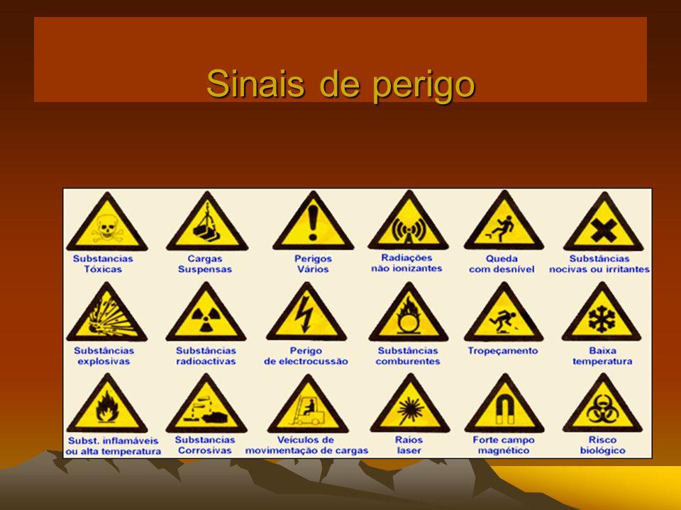 Sinais de perigo