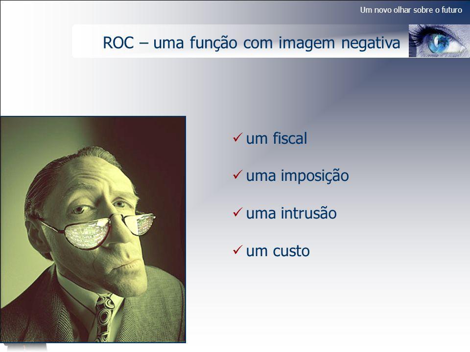 Um novo olhar sobre o futuro ROC – uma função com imagem negativa um fiscal uma imposição uma intrusão um custo