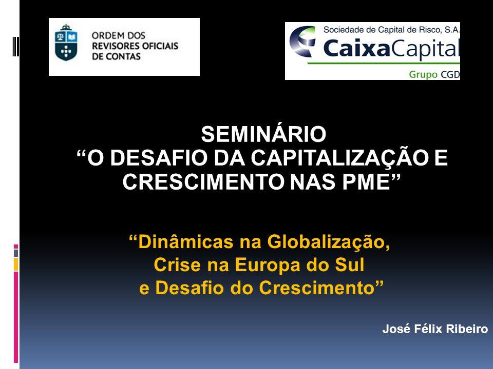 PORTUGAL: UM IMPERATIVO DE CRESCIMENTO PELA INTERNACIONALIZAÇÃO Atrair empresas multinacionais para Portugal em áreas de serviços intensivas em tecnologia supõe reconhecer o que que elas procuram: Recursos humanos qualificados a custos salariais competitivos.