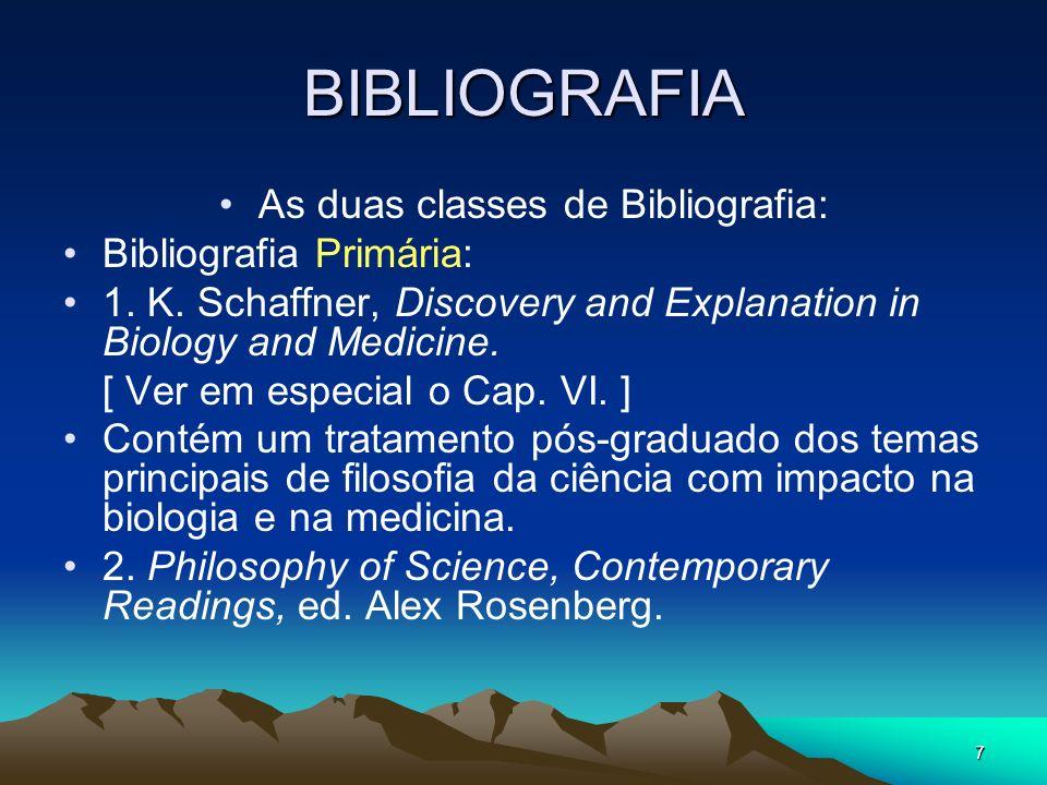 18 Students guide I. http://www.philosophypages.com/sy.htm II. Glossário (Rosenberg)