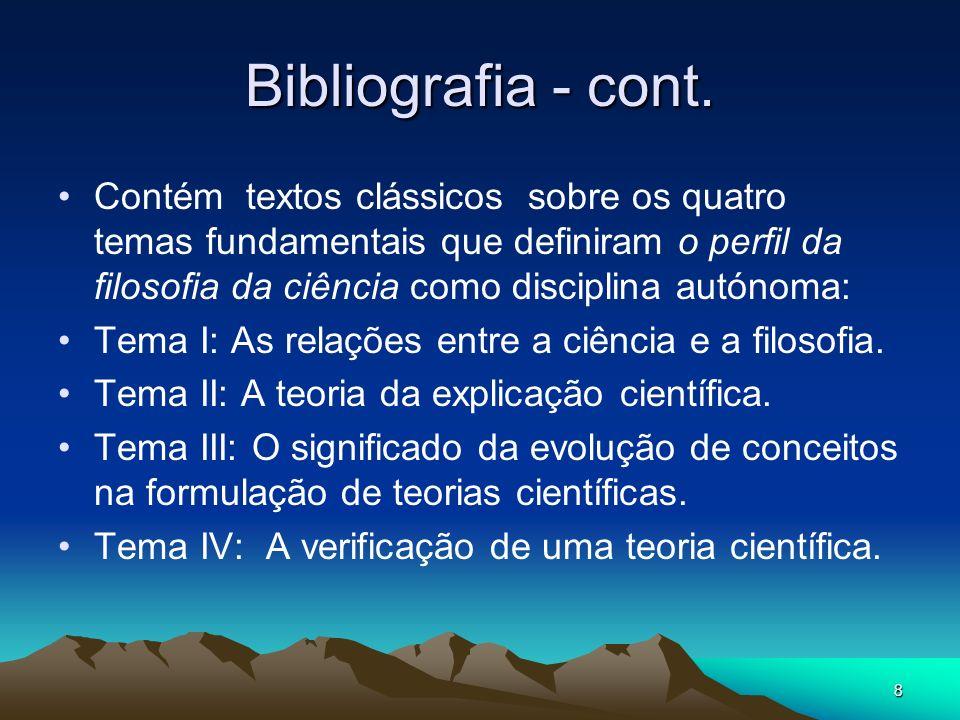 9 Bibliografia - cont.Bibliografia Secundária: 1.