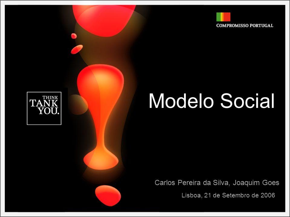 Modelo Social Lisboa, 21 de Setembro de 2006 Carlos Pereira da Silva, Joaquim Goes