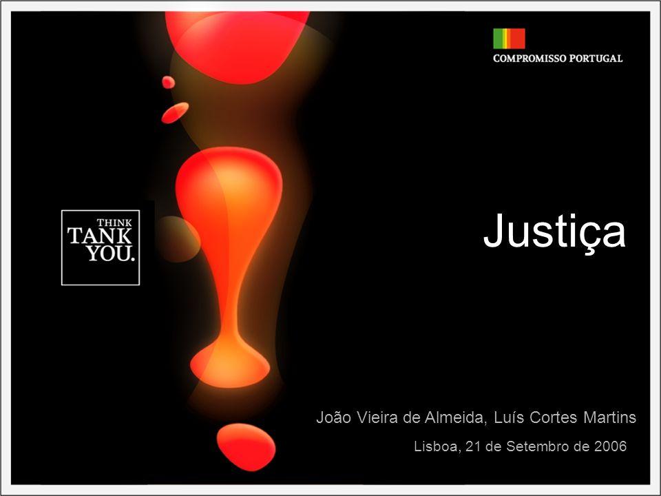 Justiça Lisboa, 21 de Setembro de 2006 João Vieira de Almeida, Luís Cortes Martins