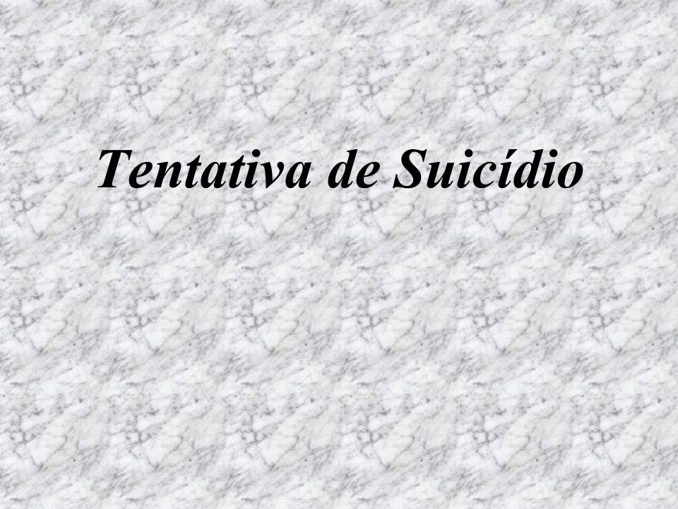 Tentativa de Suicídio