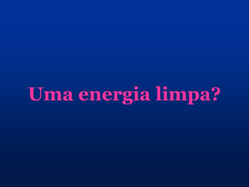 Uma energia limpa?