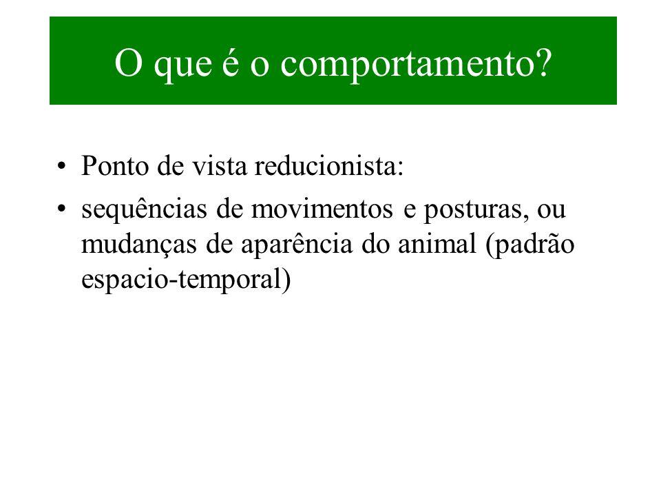 Tipos de medidas (II) Intensidade (escalas) Exemplo: receptividade deminina em roedores medida por escala de lordose