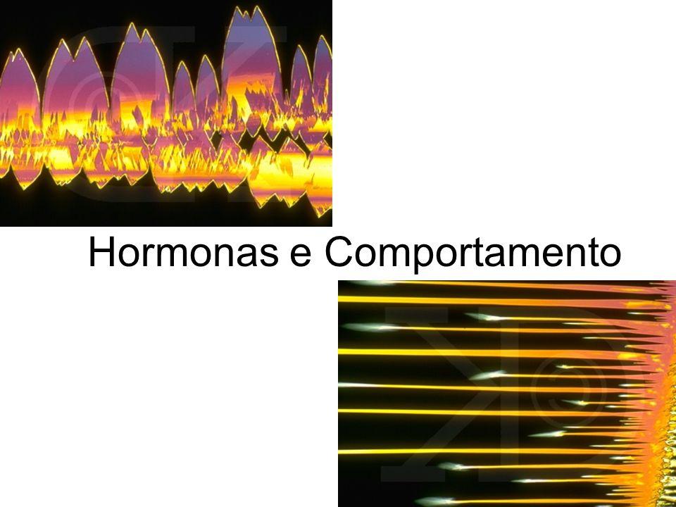 Hormonas e comportamento Hormonas e comportamento: relação biunívoca.