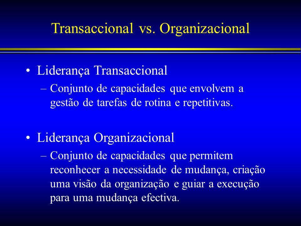 Transaccional vs.