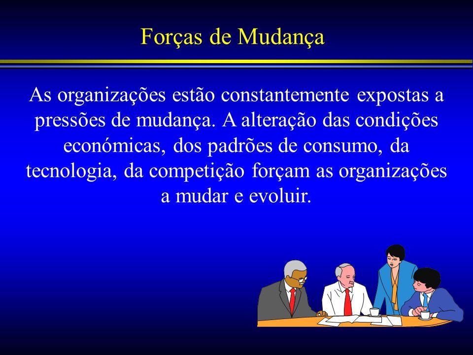 Sistema de Desenvolvimento Organizacional A outras forma de desenvolvimento organizacional é a alteração das formas e métodos de trabalho.