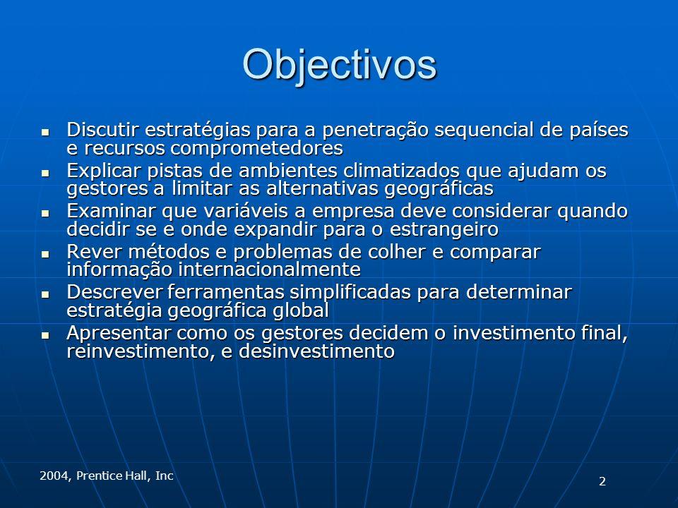 2004, Prentice Hall, Inc Decisões Locais 3
