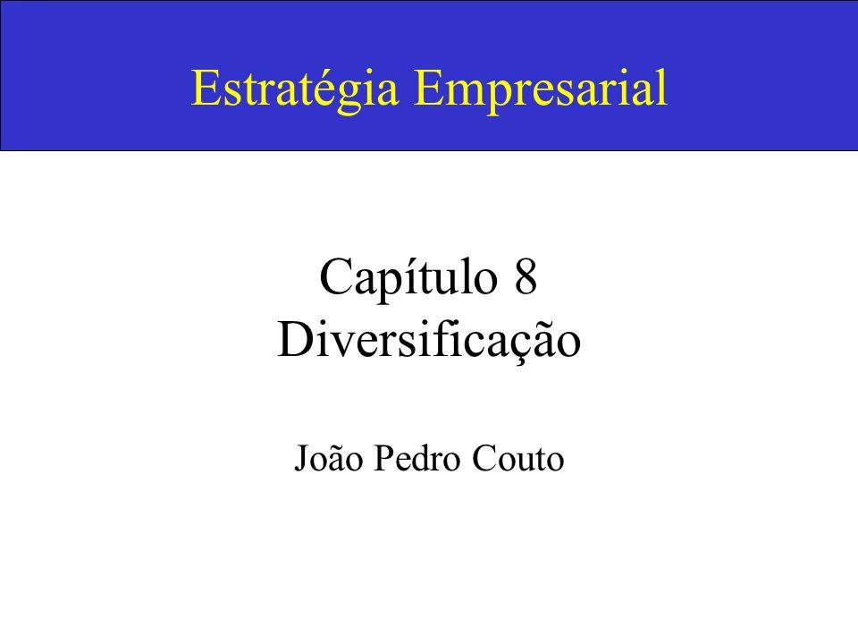 Estratégia Empresarial Capítulo 8 Diversificação João Pedro Couto