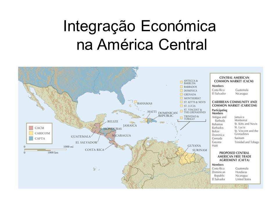 Integração Económica na América Central