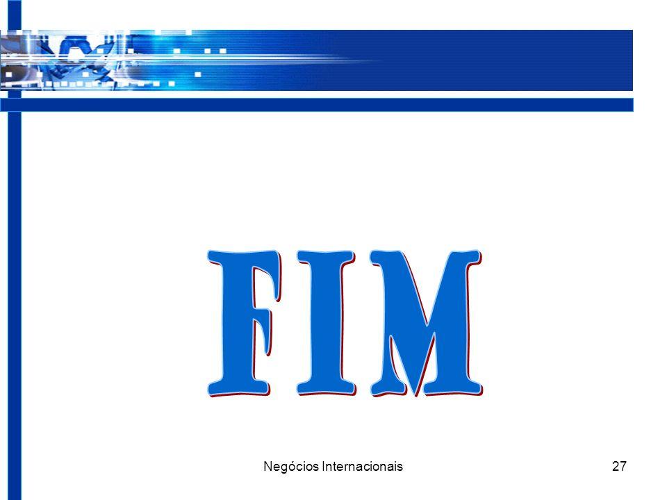 Negócios Internacionais27
