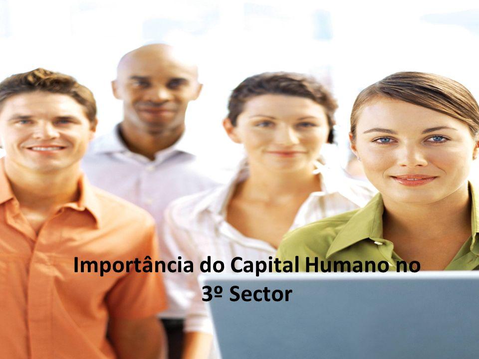 Importância do Capital Humano no 3º Sector