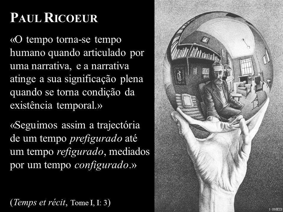 Identidade Narrativa - o conhecimento de si como interpretação de si P AUL R ICOEUR «O tempo torna-se tempo humano quando articulado por uma narrativa