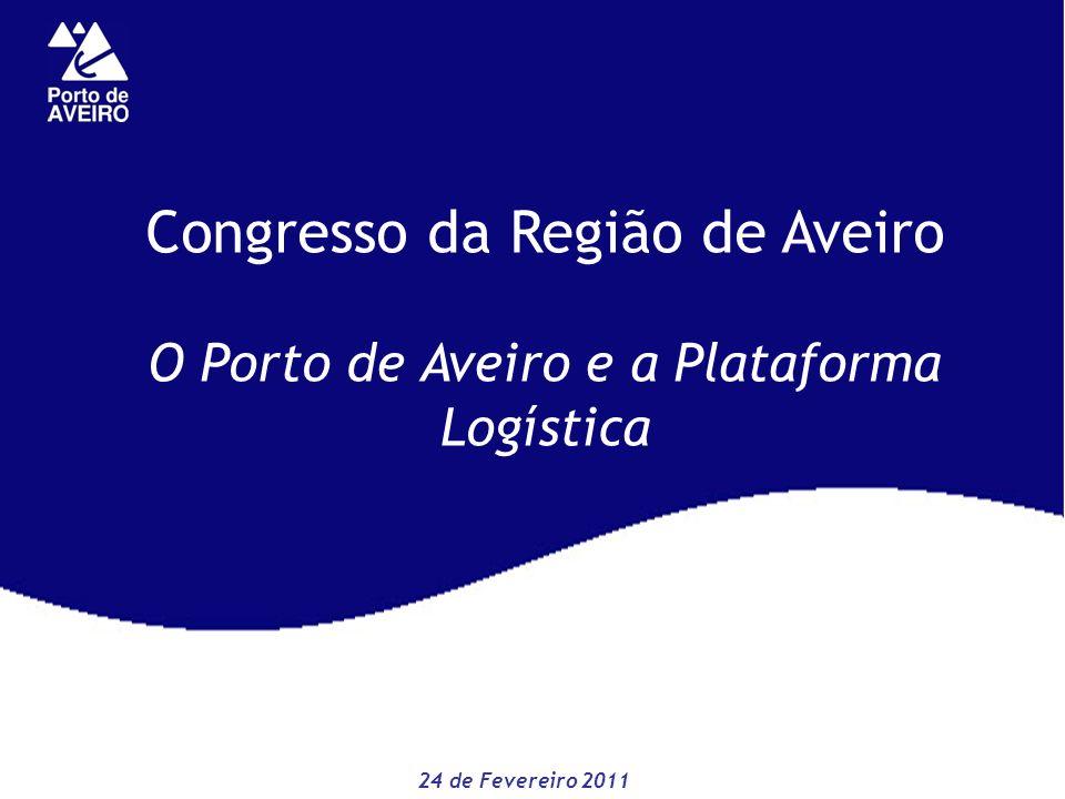 Congresso da Região de Aveiro O Porto de Aveiro e a Plataforma Logística 24 de Fevereiro 2011