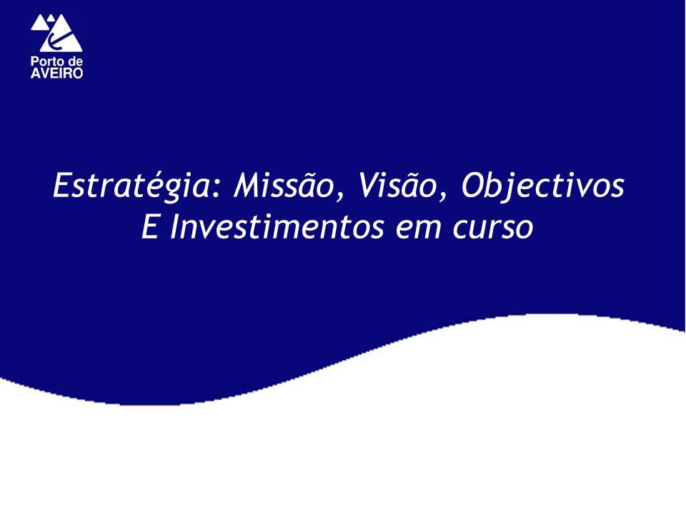 Estratégia: Missão, Visão, Objectivos E Investimentos em curso