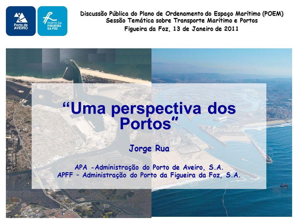 Uma perspectiva dos Portos Uma perspectiva dos Portos Jorge Rua APA -Administração do Porto de Aveiro, S.A.