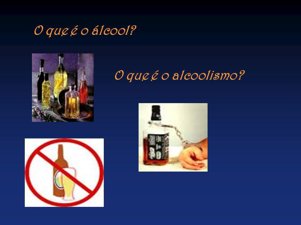 O que é o álcool? O que é o alcoolismo?
