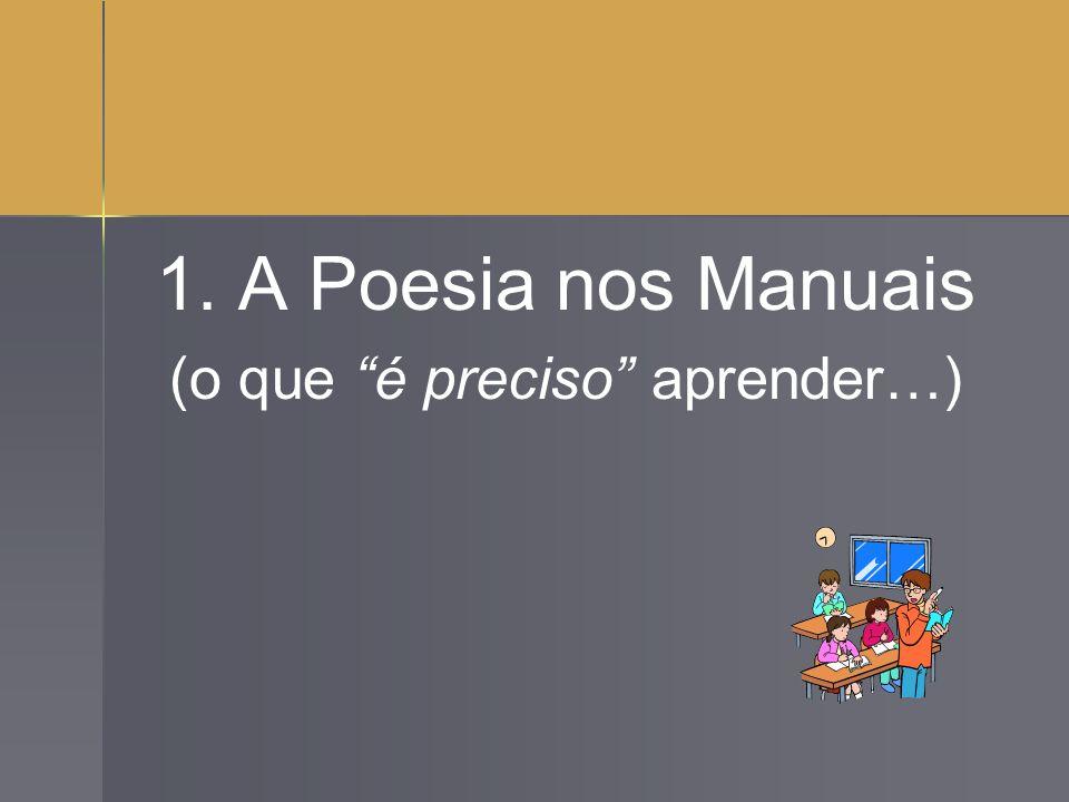 Texto Lírico – Poesia Texto lírico caracteriza-se por: Aspectos de Conteúdo: 1.
