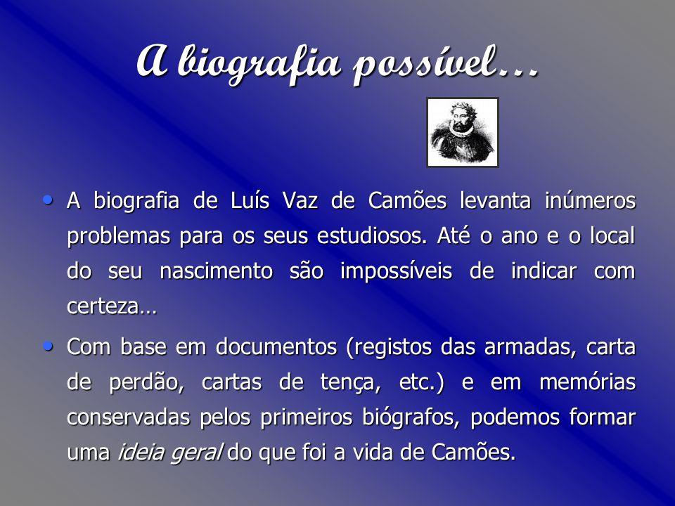 Quando Diogo do Couto encontra Camões em Moçambique, o poeta está a compor uma epopeia, e a trabalhar numa obra que reúne poesias sob o título Parnaso (esta obra viria a ser-lhe roubada).Parnaso Foi, portanto, durante a vida nas Índias que Luís de Camões escreveu Os Lusíadas.