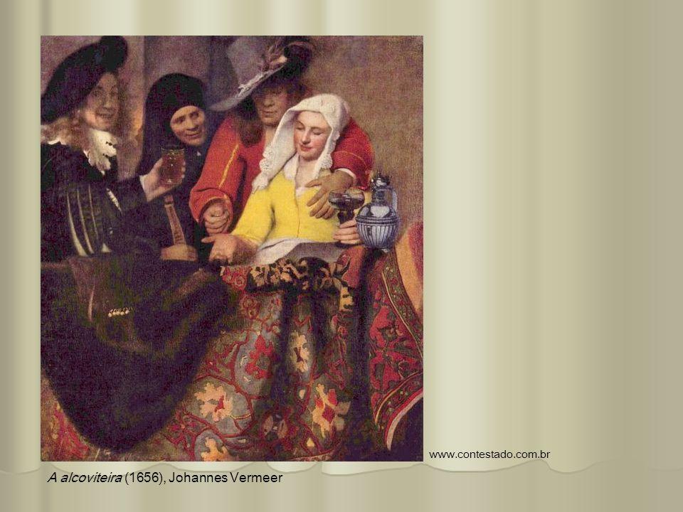 A alcoviteira (1656), Johannes Vermeer www.contestado.com.br