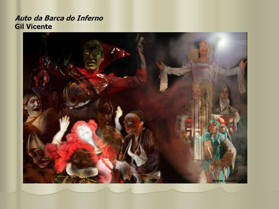 Auto da Barca do Inferno Gil Vicente www.osonho.pt