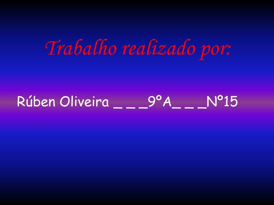 Trabalho realizado por: Rúben Oliveira _ _ _9ºA_ _ _Nº15