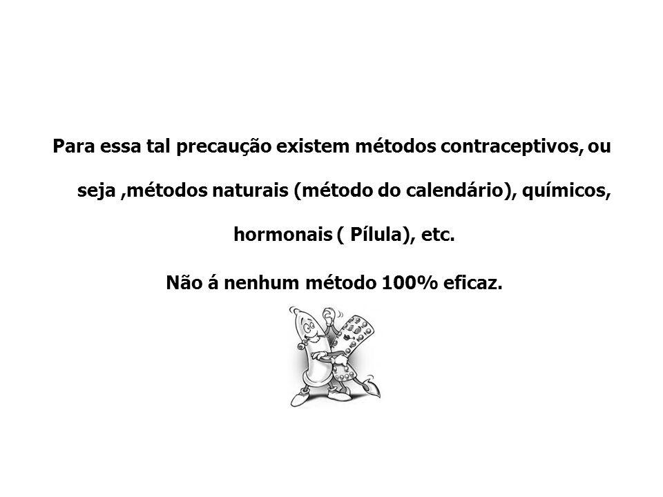 Para essa tal precaução existem métodos contraceptivos, ou seja,métodos naturais (método do calendário), químicos, hormonais ( Pílula), etc. Não á nen