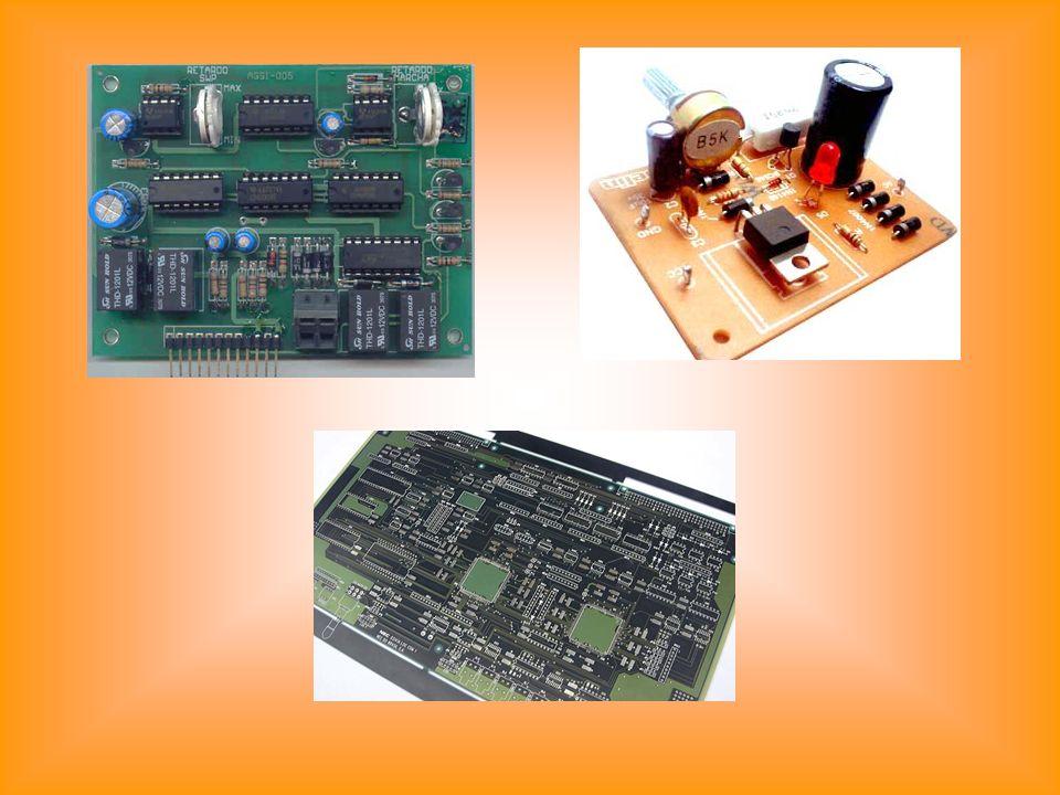 componente electrónico tem uma função particular.