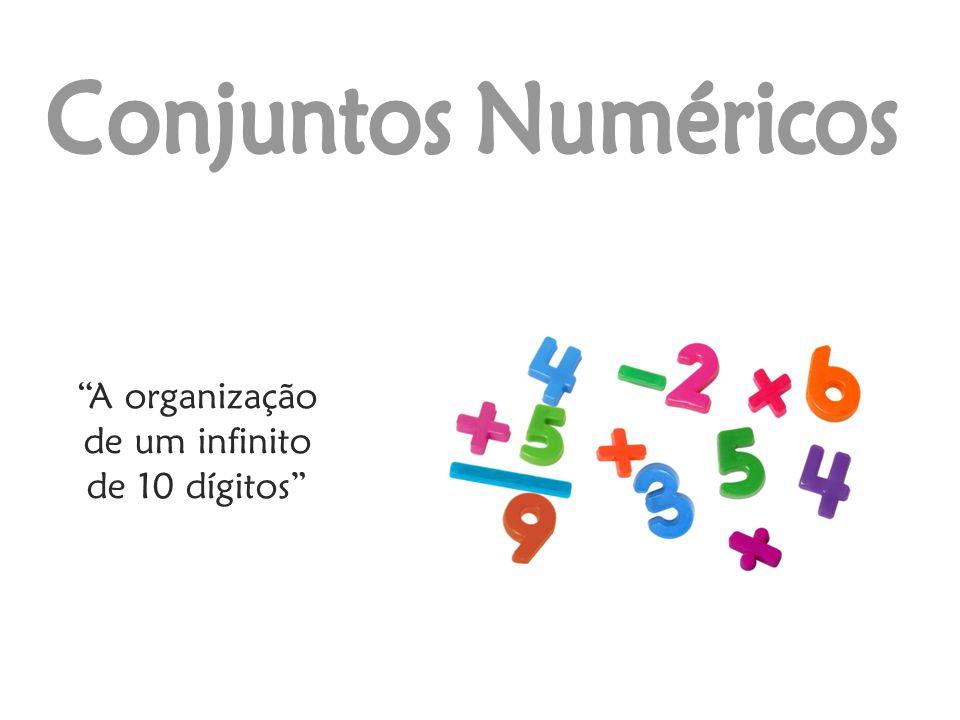 A organização de um infinito de 10 dígitos