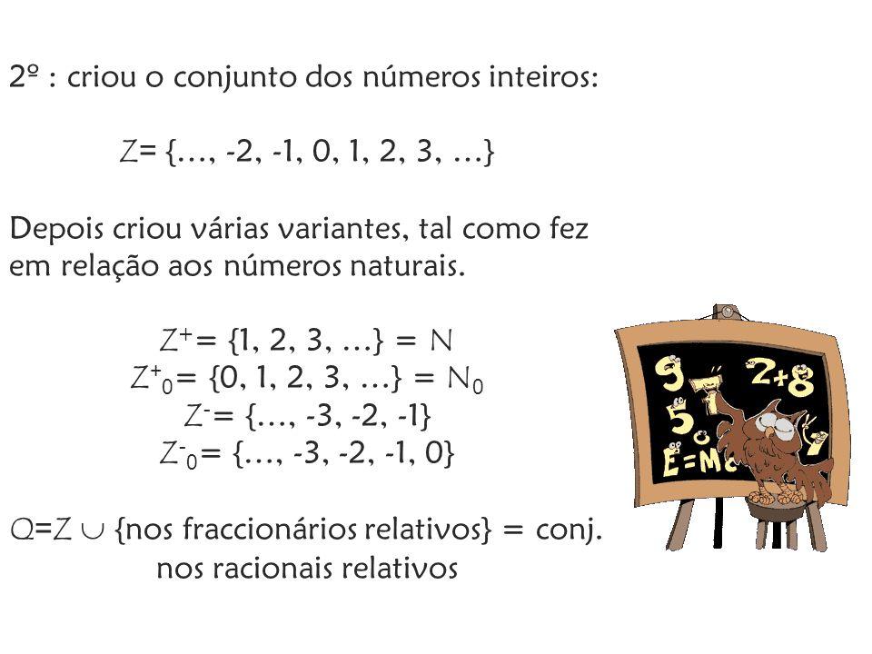 Por fim, temos o conjunto dos Números Reais, que representa todos os números, ao qual o Homem também fez alterações.