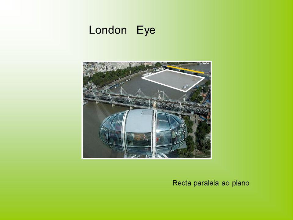 London bus Recta perpendicular ao plano