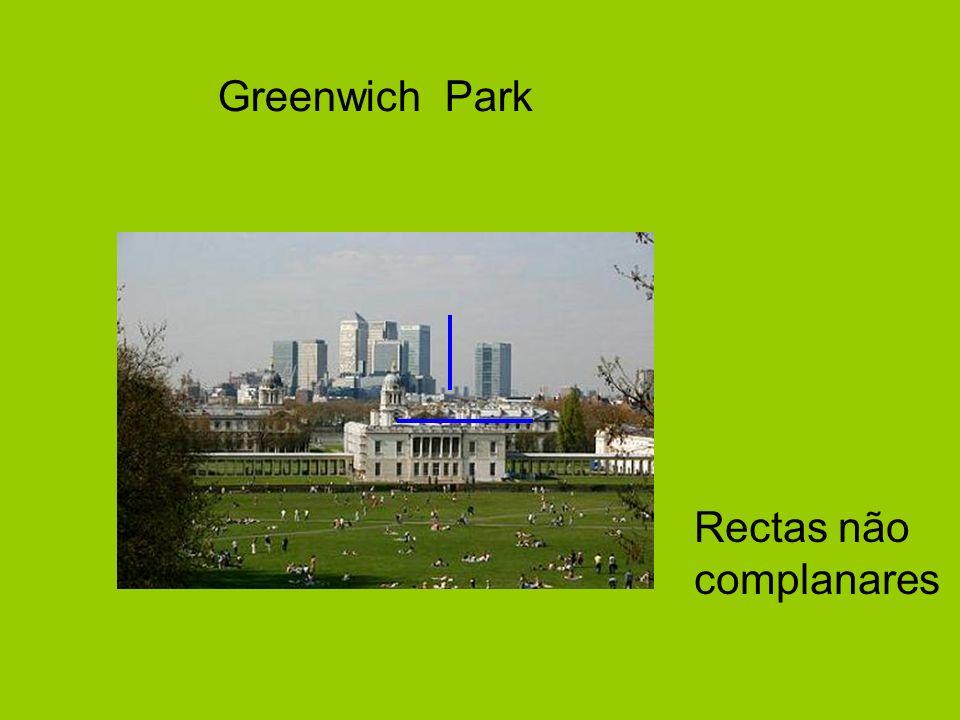 Greenwich Park Rectas não complanares