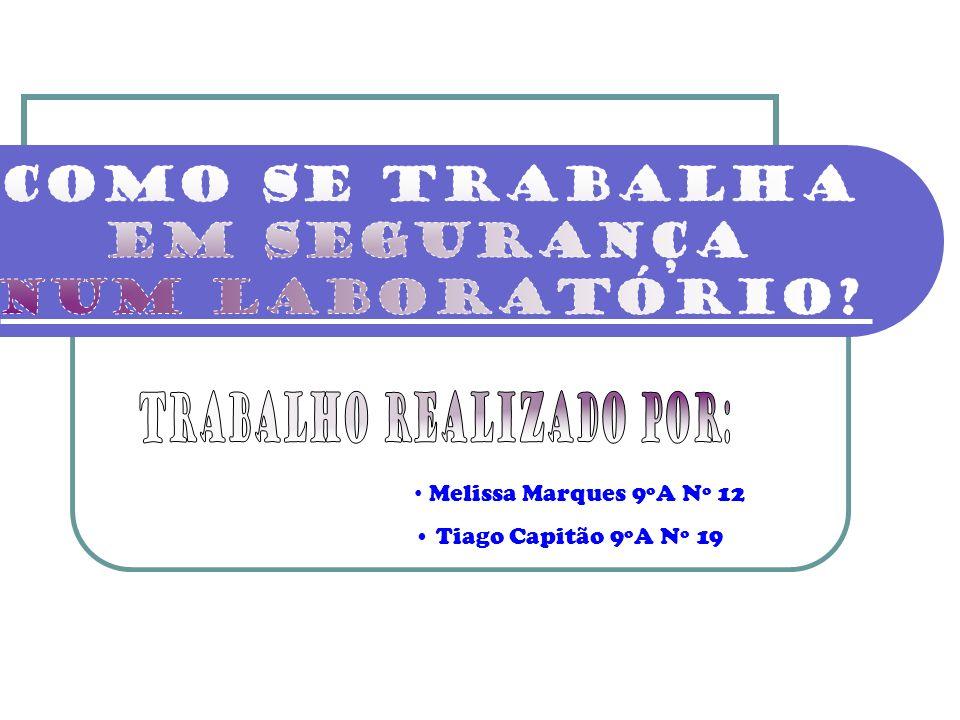 Melissa Marques 9ºA Nº 12 Tiago Capitão 9ºA Nº 19