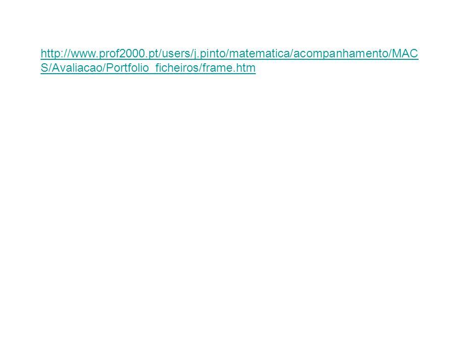 http://www.prof2000.pt/users/j.pinto/matematica/acompanhamento/MAC S/Avaliacao/Portfolio_ficheiros/frame.htm