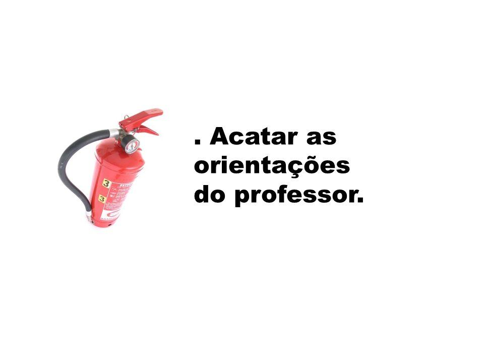ITINERÁRIOS / VIAS DE EVACUAÇÃO.