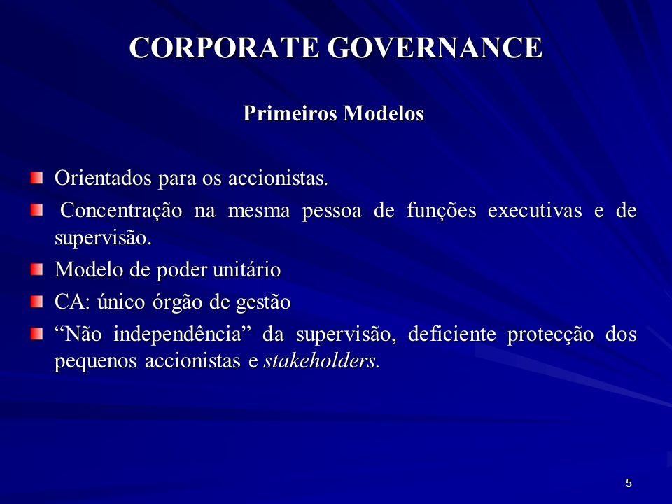 CORPORATE GOVERNANCE Regulação e Supervisão O Banco de Portugal exerce a função de autoridade e supervisão – Prudencial e comportamental das instituições de crédito e sociedades financeiras em Portugal.