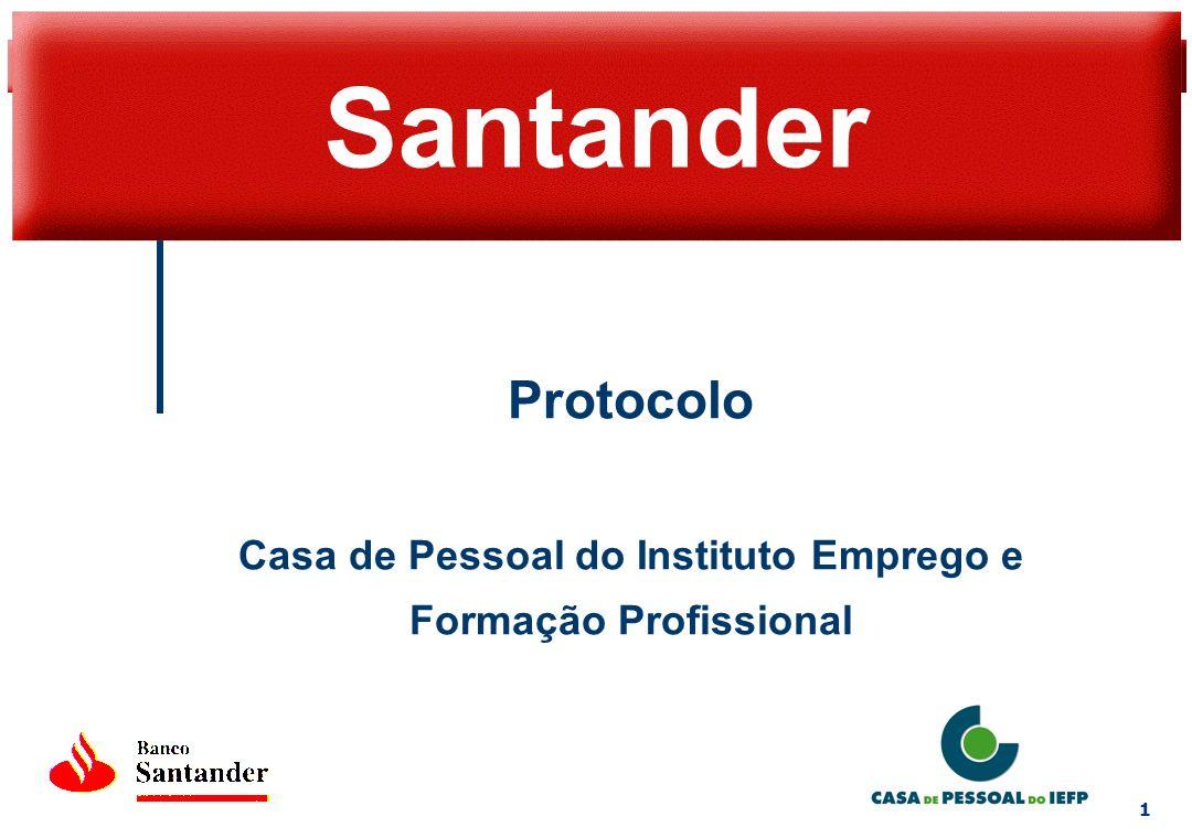 2 Protocolo Proporcionar aos colaboradores e associados da Casa de Pessoal do IEFP Vantagens especiais em produtos e serviços Melhoria dos níveis de serviços prestados Condições diferenciadas e serviços específicos
