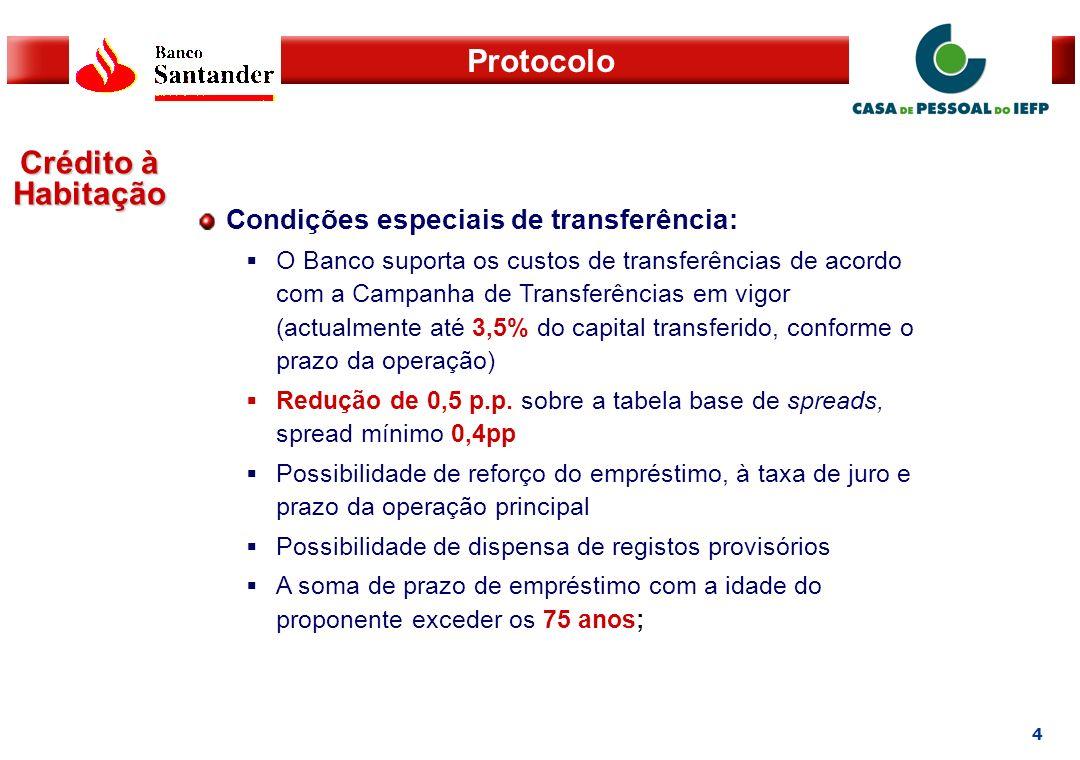 5 Protocolo Crédito Pessoal Taxa de Juro: Redução de 2 p.p.