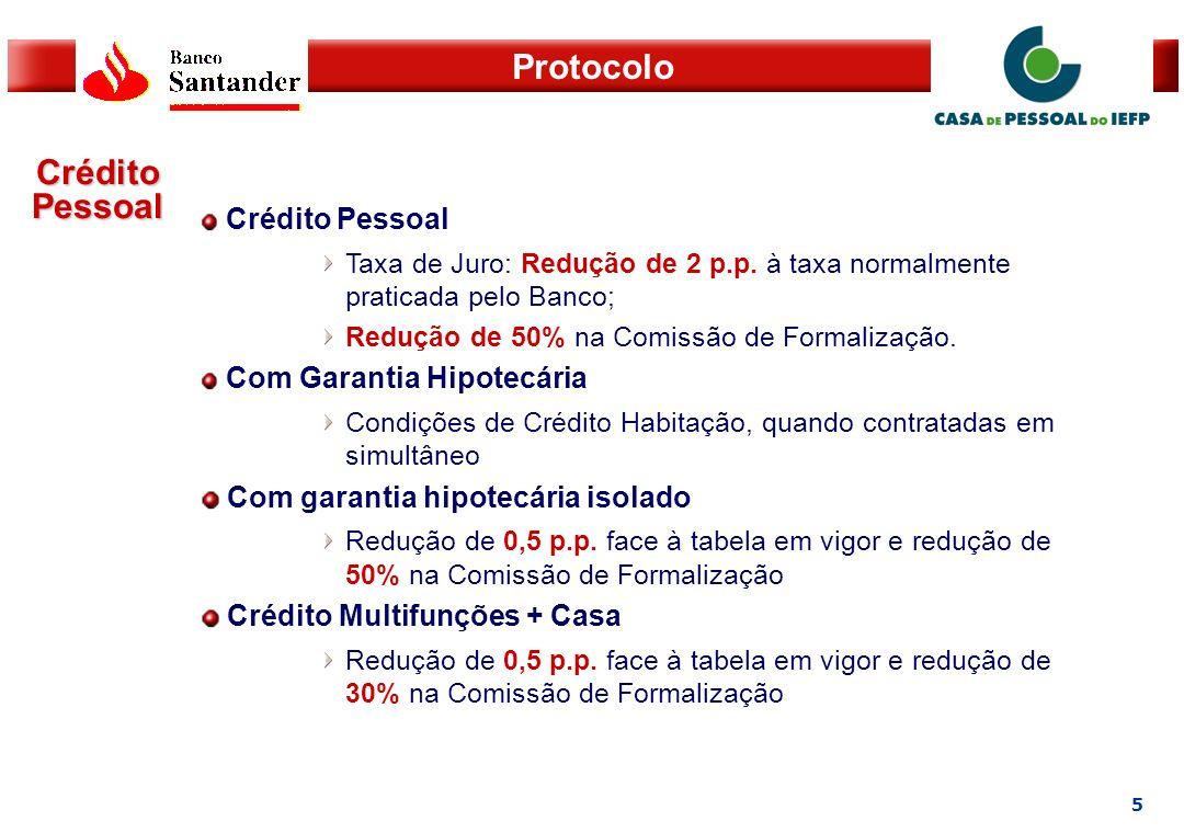 6 Protocolo Crédito Especializado Financiamento Automóvel – Viaturas Novas Entrada mínima – 15% Taxa de Juro – Euribor 3M + 2pp e Valor Residual máximo de 20%.