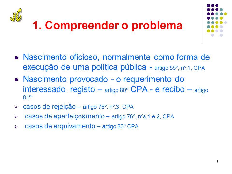 2 A boa decisão administrativa. 1. Revela uma boa compreensão do problema 2.