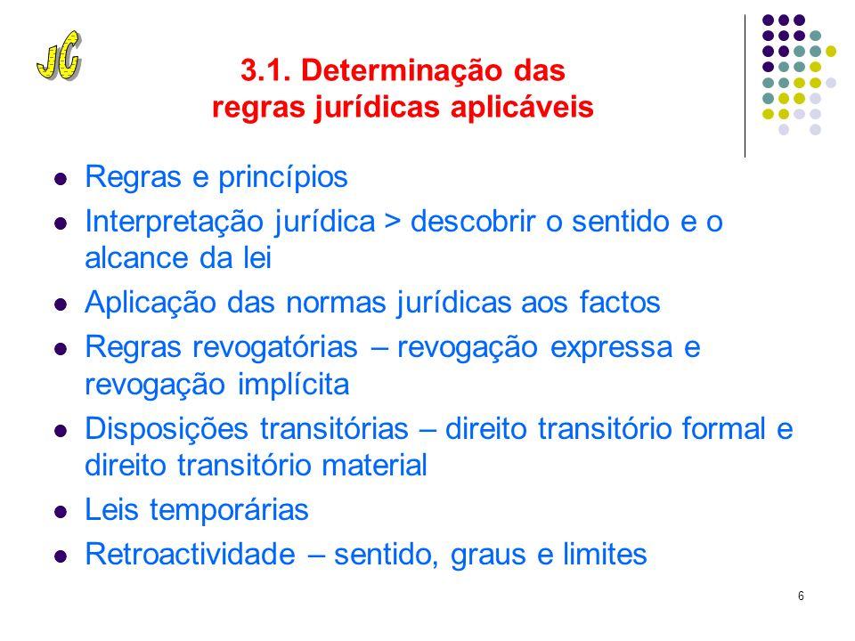 5 3. Respeitar o quadro legal 3.1.