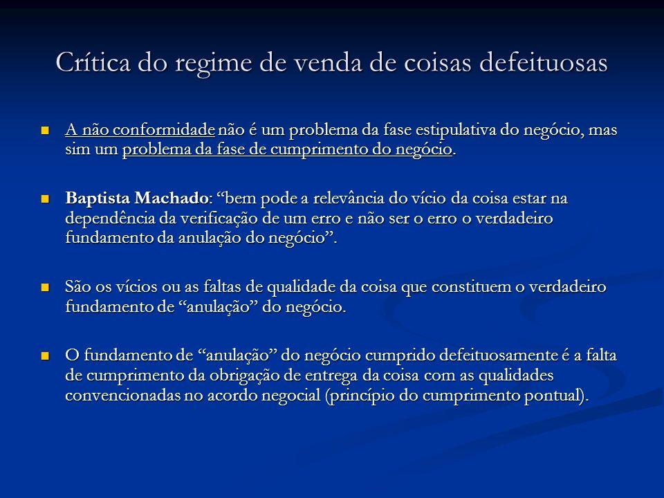 2.A Conformidade – Na directiva Precedentes da Directiva: A Convenção de Viena de 1980 e os esforços de unificação do direito internacional de compra e venda.