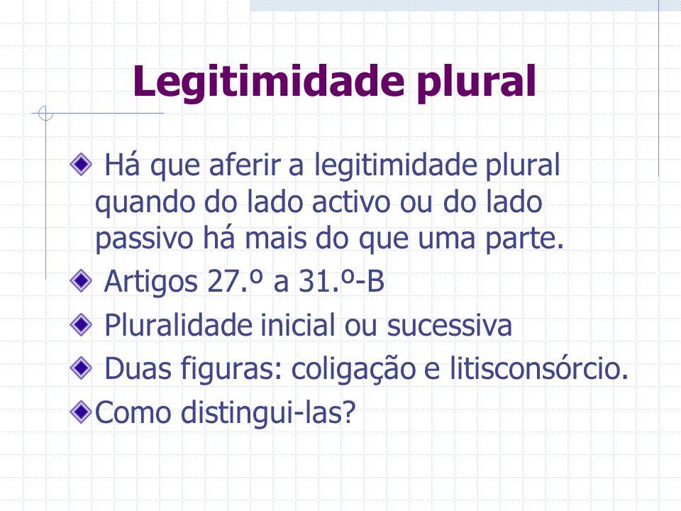 LEGITIMIDADE PLURAL
