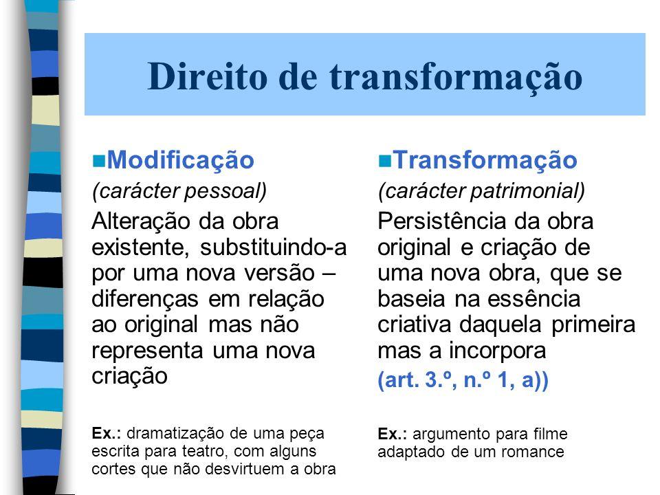 Regime jurídico actual - Portugal Noção legal – artigo 176.º, n.º 7 (incorrecta inserção sistemática) Previsão do direito – artigo 68.º, n.º 1, i) completado pelo artigo 75.º, n.º 1 Limites ao direito de reprodução: em especial, artigo 81.º e artigo 75.º, n.º 2, alíneas a), b), d), e), f), g), h), i), m), n), p)