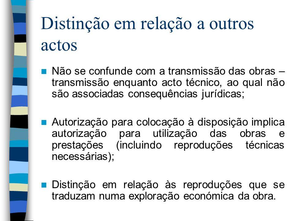 Directiva 2001/29/CE e Lei n.º 50/2004 Posição neutra da Directiva – art.